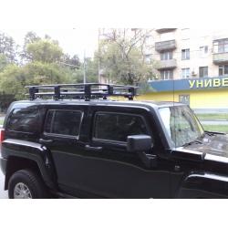 Алюминиевый  багажник Hummer H3