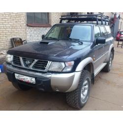 Алюминиевый багажник Nissan Patrol Y61 (эксклюзив)