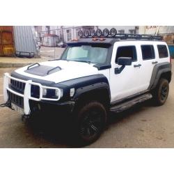 Алюминиевый  багажник Hummer H3 (люкс)