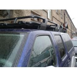 Алюминиевый багажник Nissan NP300 (люкс)