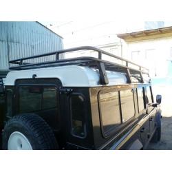 Алюминиевый  багажник Land Rover Defender 110