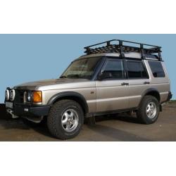 Алюминиевый багажник LR Discovery 2 (люкс)
