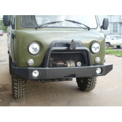 Передний бампер УАЗ 452/3741 Буханка