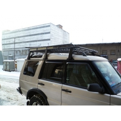 Алюминиевый  багажник Land Rover Discovery 2