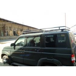 Алюминиевый багажник УАЗ 3163 Patriot