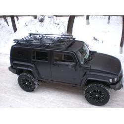 Алюминиевый  багажник Hummer H3 (колесо)