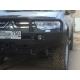 Передний бампер Mitsubishi L200 New (люкс)