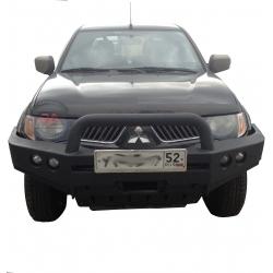 Передний бампер Mitsubishi L200