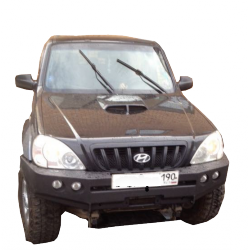 Передний бампер  Hyundai Terracan